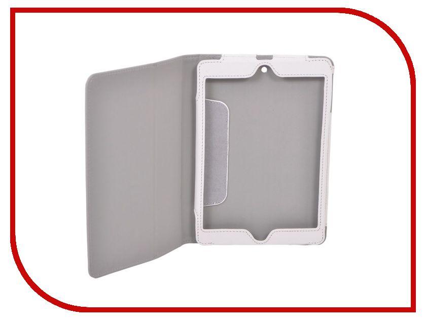 Аксессуар Чехол IT Baggage для APPLE iPad mini / mini 2 иск. кожа White ITIPMINI202-0