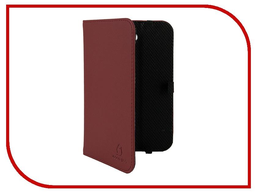 Аксессуар Чехол Galaxy Tab 3 T2100 / T2110 Good Egg Lira кожаный Bordo<br>