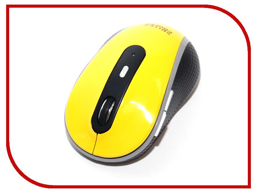Мышь беспроводная 5bites COOPER M61RF 2.4GHz Yellow