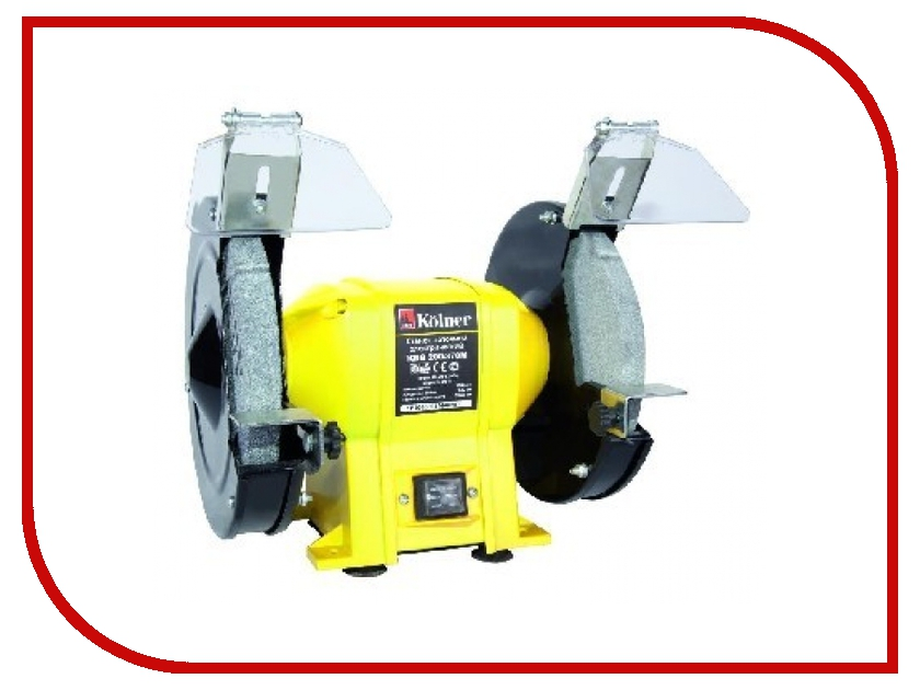 Электроточило Kolner KBG 200/370M электроточило kolner kbg 200 370m
