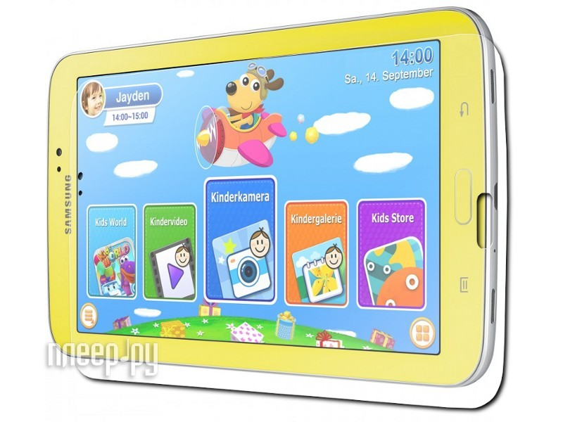 Аксессуар Защитная пленка Samsung Galaxy Tab 3 7.0 SM-T2105 Kids LuxCase суперпрозрачная 80997