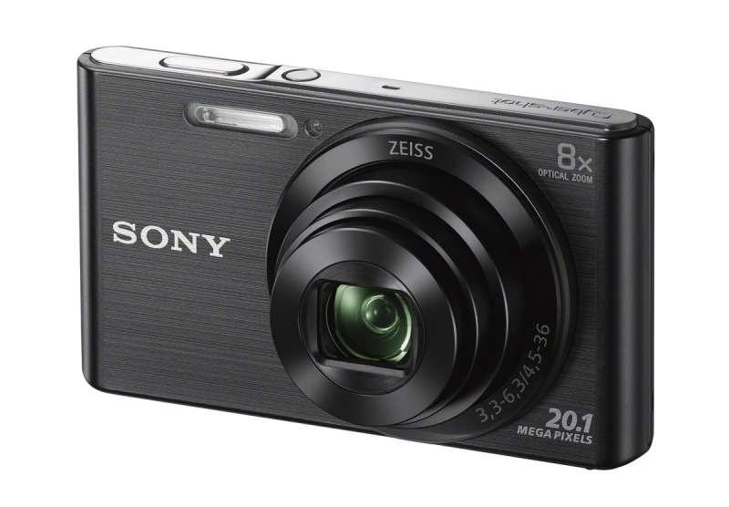 Фотоаппарат Sony DSC-W830 Cyber-Shot Black фотоаппарат sony cyber shot dsc w810 серебристый