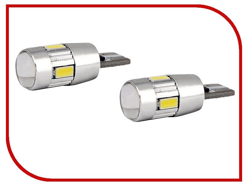 Лампа Gofl T10 (W5W)-6-5630 SMD 1503 (2 штуки)