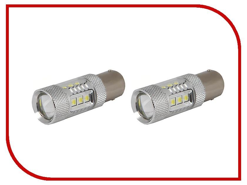 Лампа Gofl / Glare of Light Canbus 1156 (P21W) 30WCREE 1610 (2 штуки)<br>