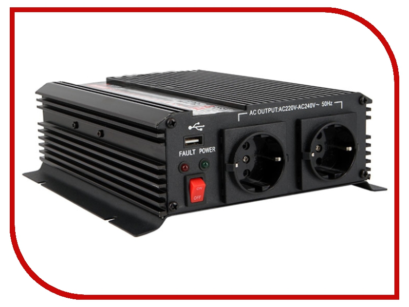 Автоинвертор AcmePower AP-DS1000/12 (1000Вт) преобразователь с 12В на 220В<br>