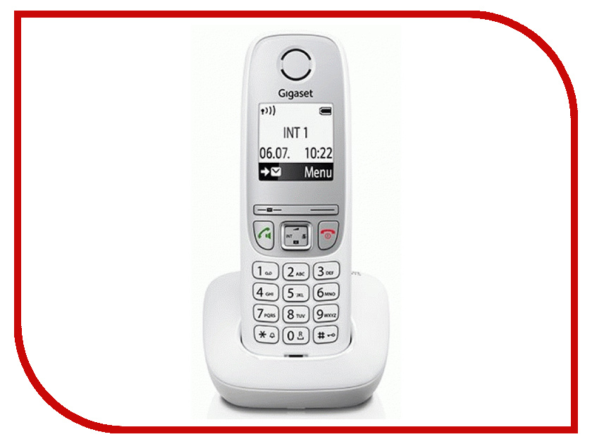 Радиотелефон Gigaset A415 White телефон беспроводной dect gigaset a415 white