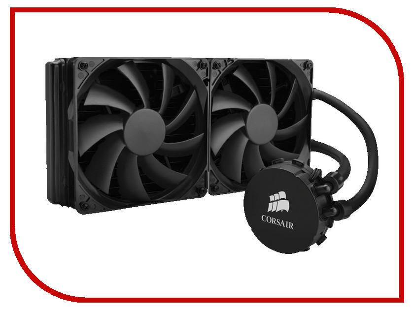 Водяное охлаждение Corsair H110 CW-9060014-WW (Intel LGA1150/LGA1155/LGA1156/LGA1366/LGA2011/AMD FM1/FM2/AM2/AM3)