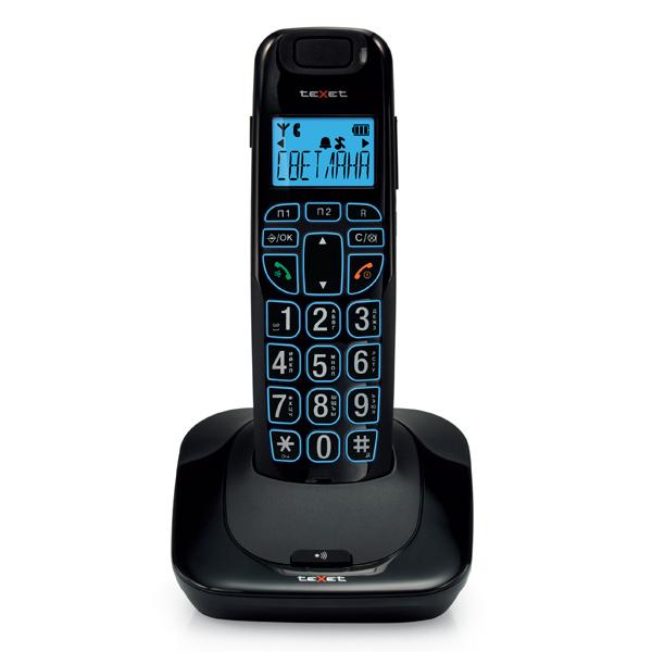 Радиотелефон teXet TX-D7505A Black