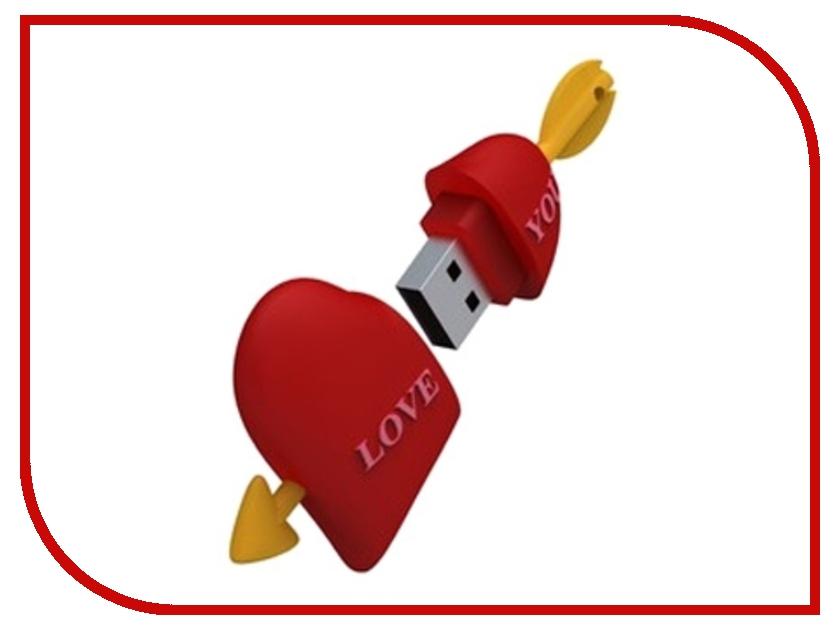 USB Flash Drive 8Gb - Iconik Сердце RB-HEART-8GB<br>