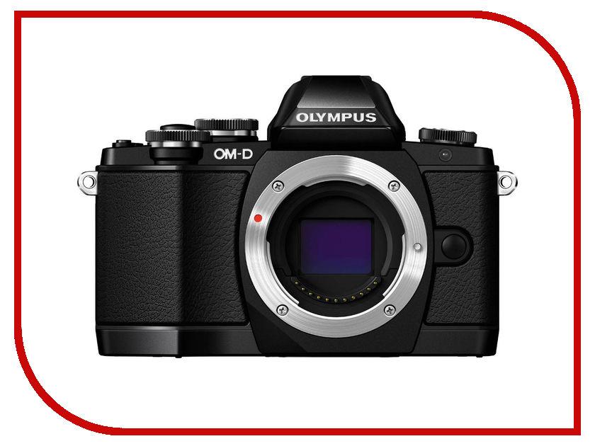 Фотоаппарат Olympus OM-D E-M10 Body Black фотоаппарат olympus om d e m5