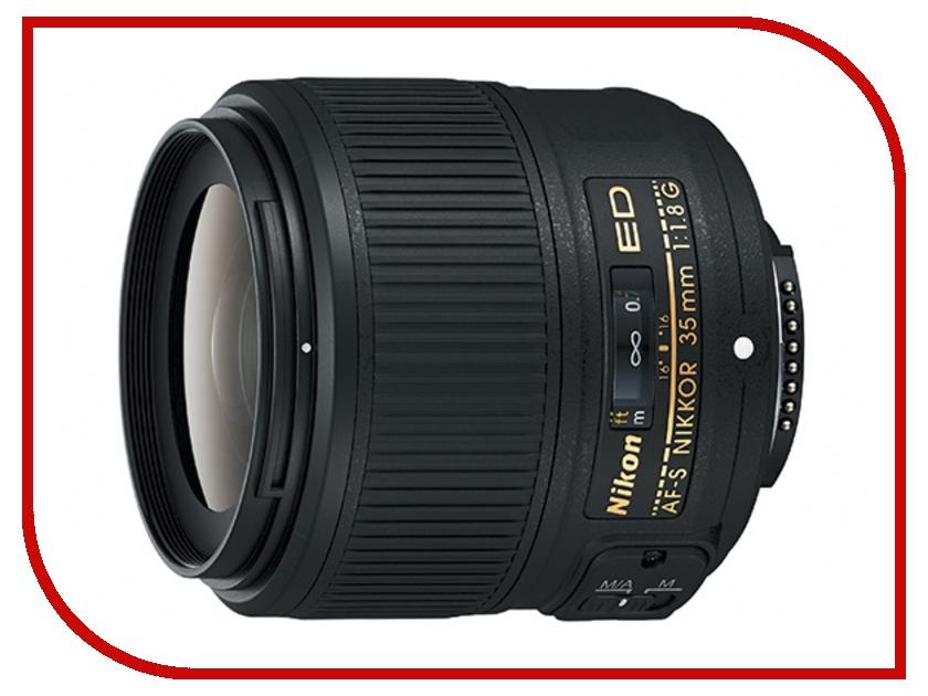 Объектив Nikon Nikkor AF-S 35 mm f/1.8G ED nikon nikkor af s 55 300mm