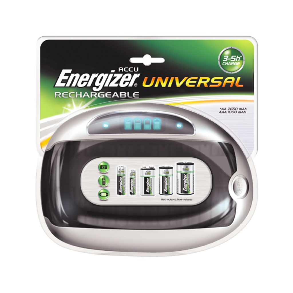 Зарядное устройство Energizer Universal Charger E301335800 / 14885