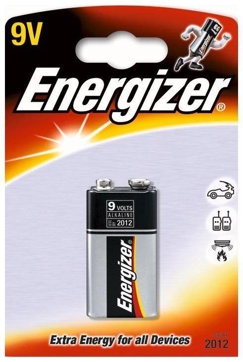 Батарейка КРОНА Energizer 6LR61/522 FSB1 (1 штука) аккумулятор крона energizer rech power plus nh22 175 mah ni mh 1 штука