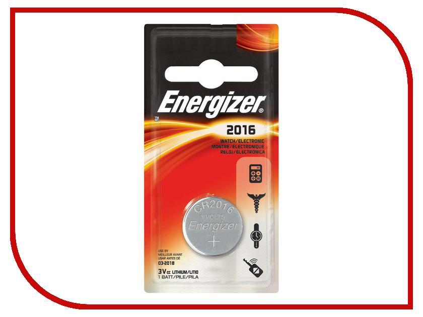 Батарейка CR2016 - Energizer Miniature Enr Lithium (1 штука)<br>