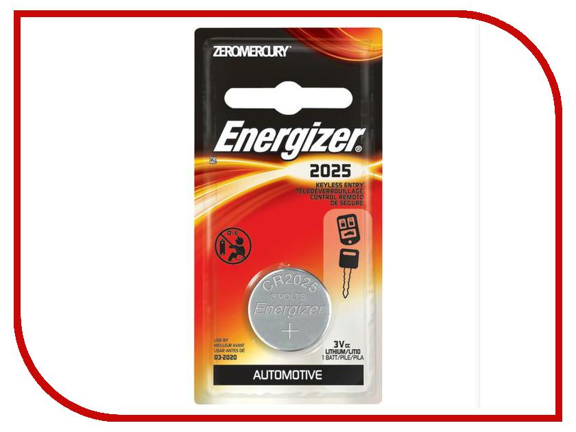 Батарейка CR2025 - Energizer Miniature Enr Lithium PIP1 (1 штука) wireless remote controller w receiver for canon pentax camera black 1 x cr2025