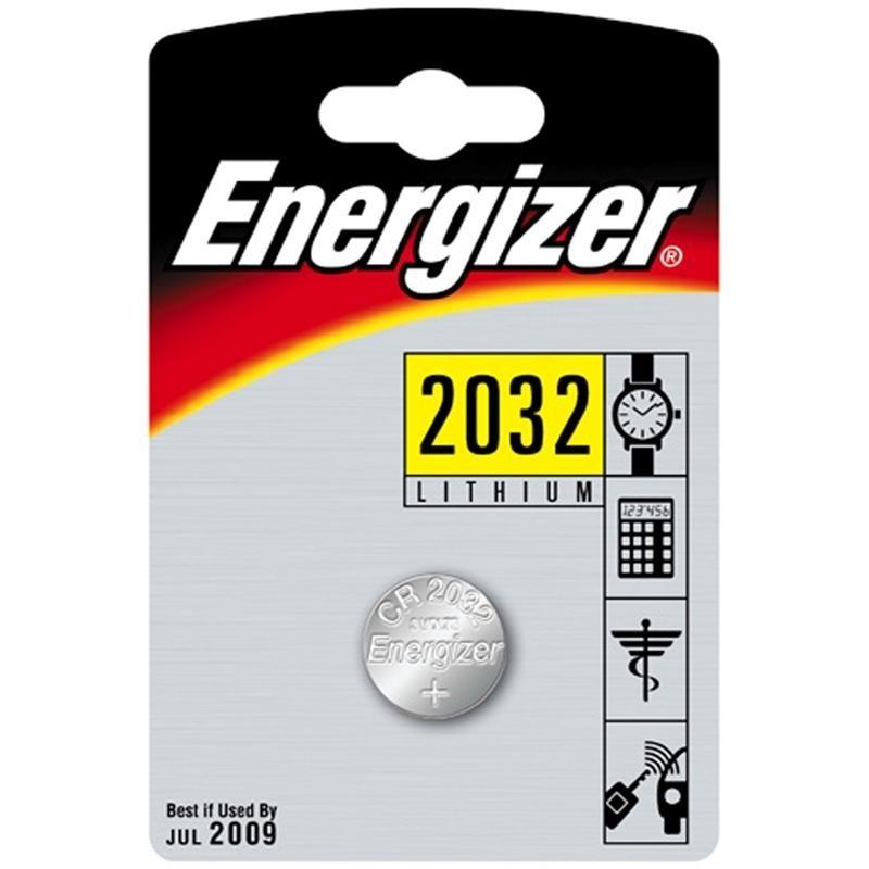 Батарейка CR2032 - Energizer Miniature Enr Lithium PIP1 (1 штука) E301021302 / 21194