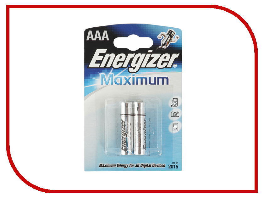 Батарейка AAA - Energizer Maximum LR03/E92 (2 штуки)