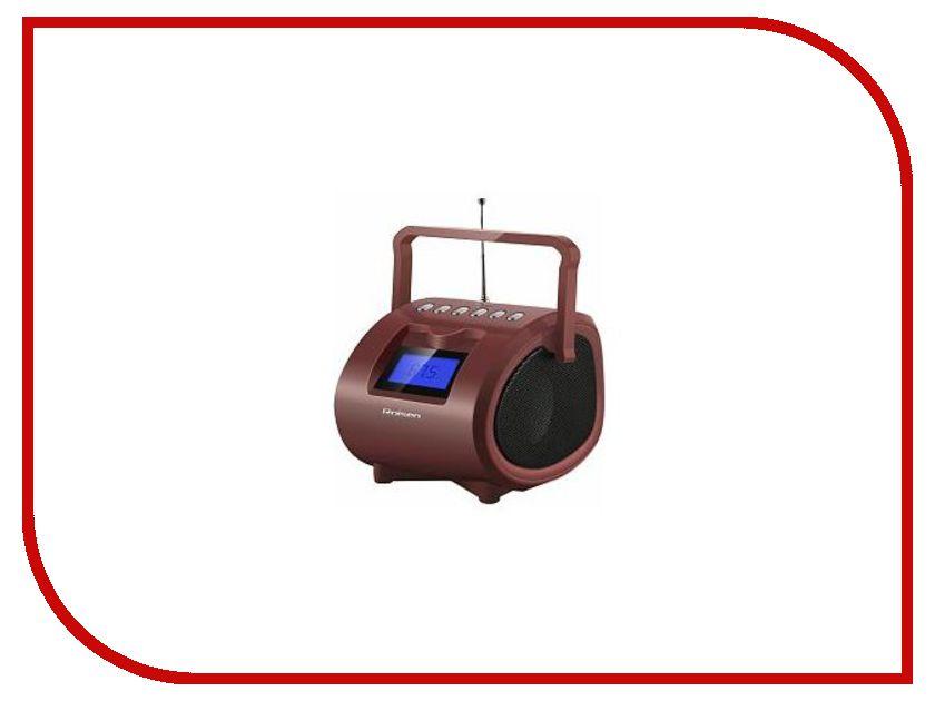 Радиоприемник Rolsen RBM-412BR Brown<br>