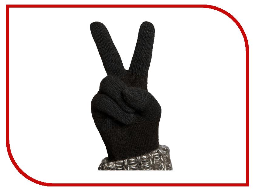 Теплые перчатки для сенсорных дисплеев iGlover Nord S Black
