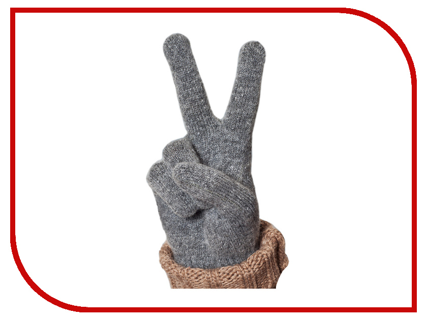 Теплые перчатки для сенсорных дисплеев iGlover Nord S Grey