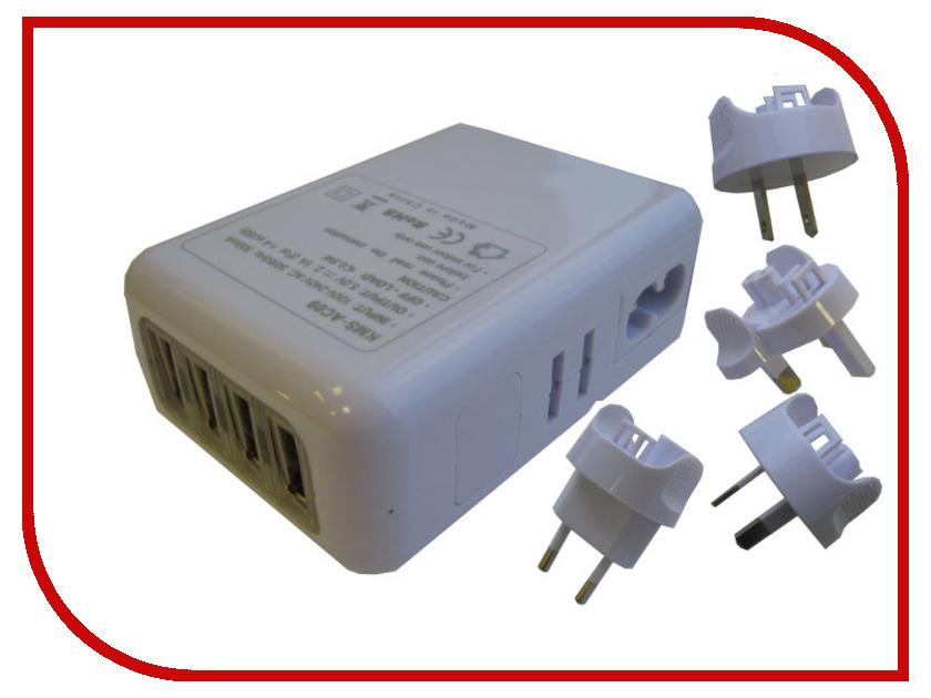 Зарядное устройство Espada E-04UU White<br>