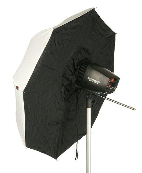 Зонт Dicom Ditech UBS40WB 40-inch (101cm) White-Black<br>