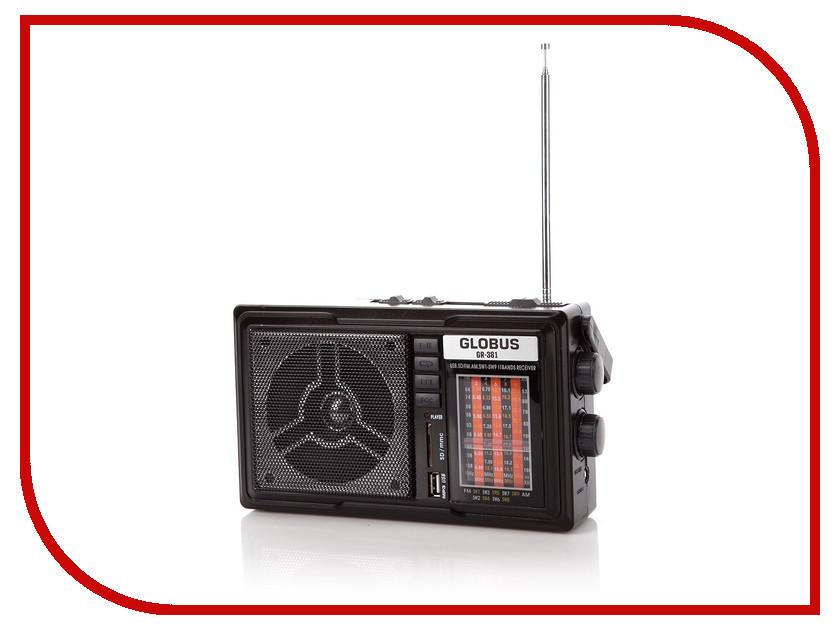 Радиоприемник GlobusFM GR-381<br>