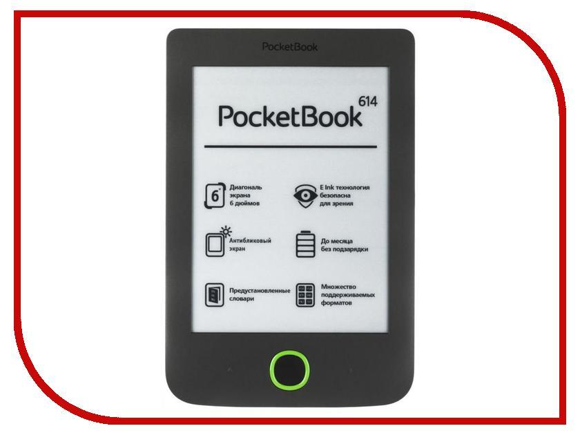 Электронная книга PocketBook 614 Grey PB614-Y-RU<br>
