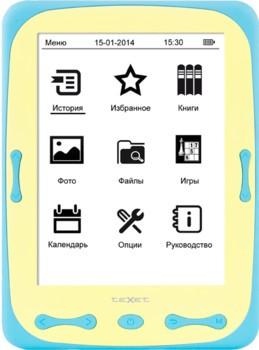 Электронная книга teXet TB-566 Blue