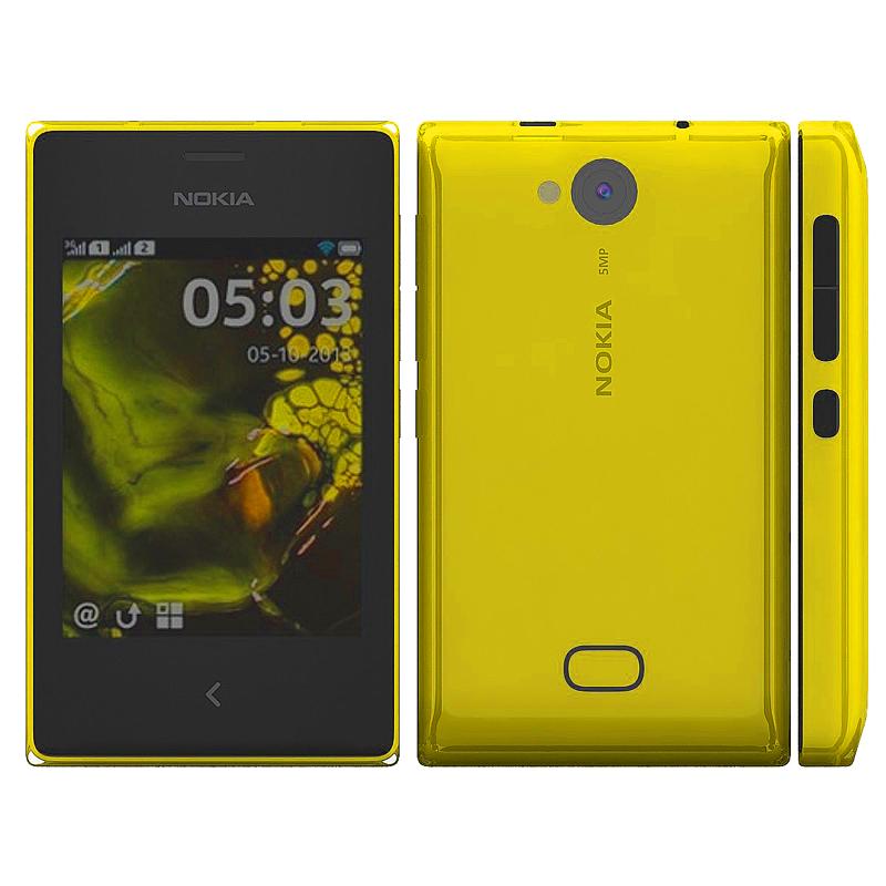 Сотовый телефон Nokia 503 Asha Dual SIM Yellow
