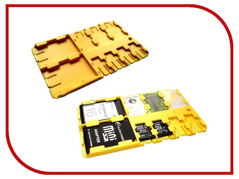 Футляр REFI Holder SD / microSD / SIM Yellow yellow 90