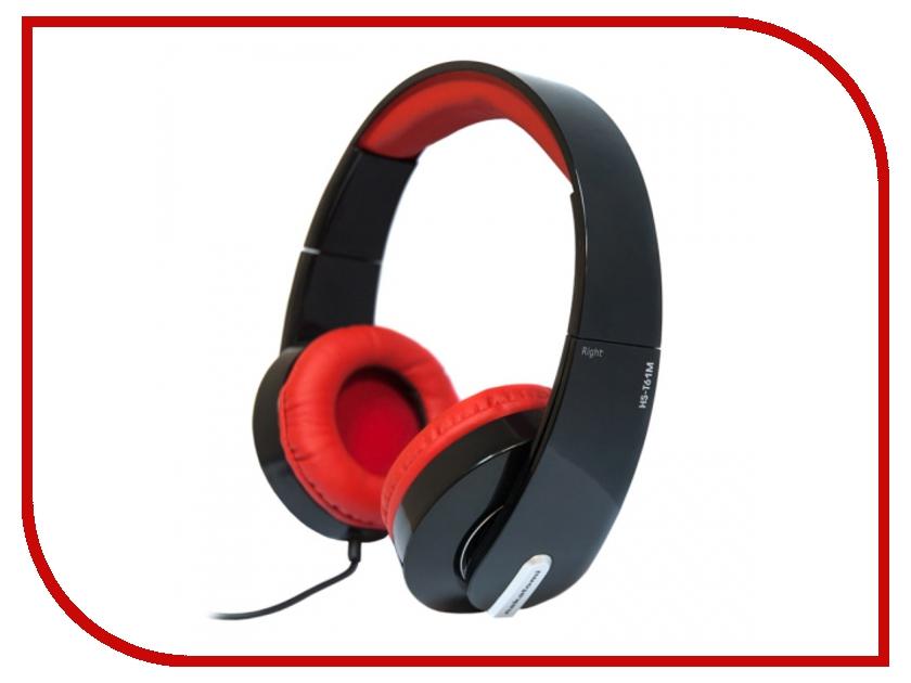 Гарнитура Nakatomi HS-T61M Black-Red<br>