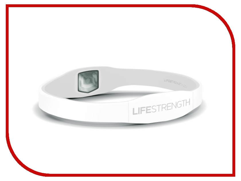 Браслет Lifestrength/Purestrength Elite 1S (Onesize) White/White