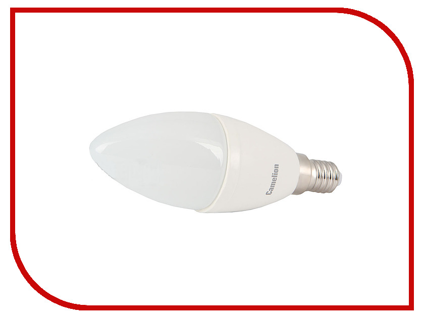 Лампочка Camelion C35 6.5W 220V E14 4500K 590 Lm LED6.5-C35/845/E14<br>