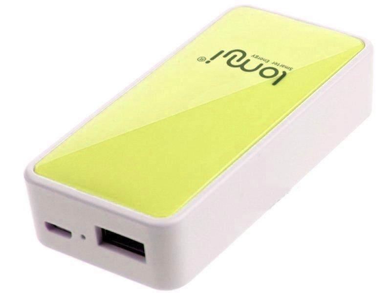 Аккумулятор Lomui Power Bank L520 Moonlight 5200 mAh Yellow