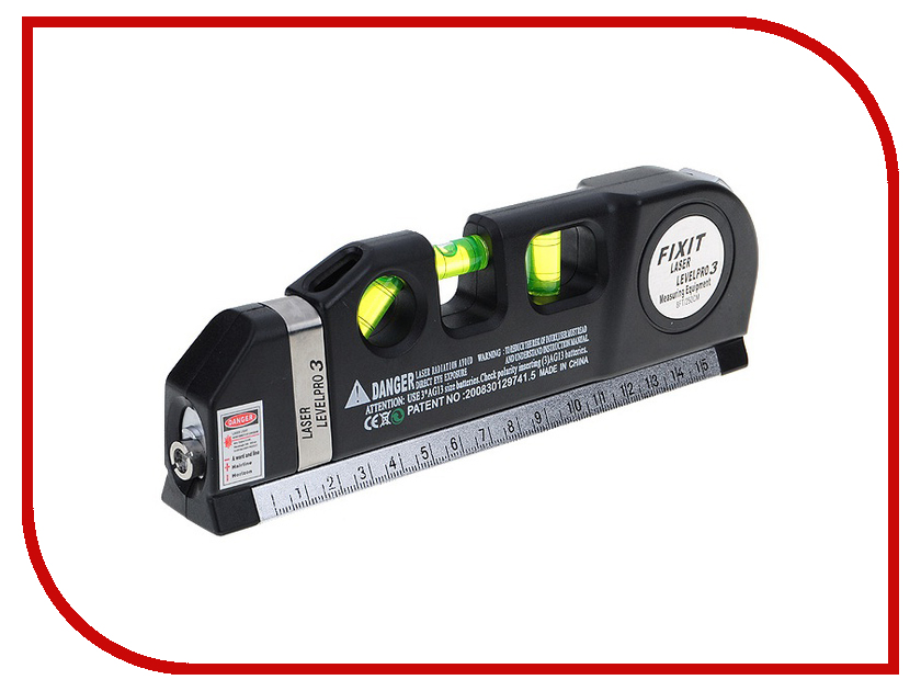 Уровень FIXIT LevelPro3 15cm
