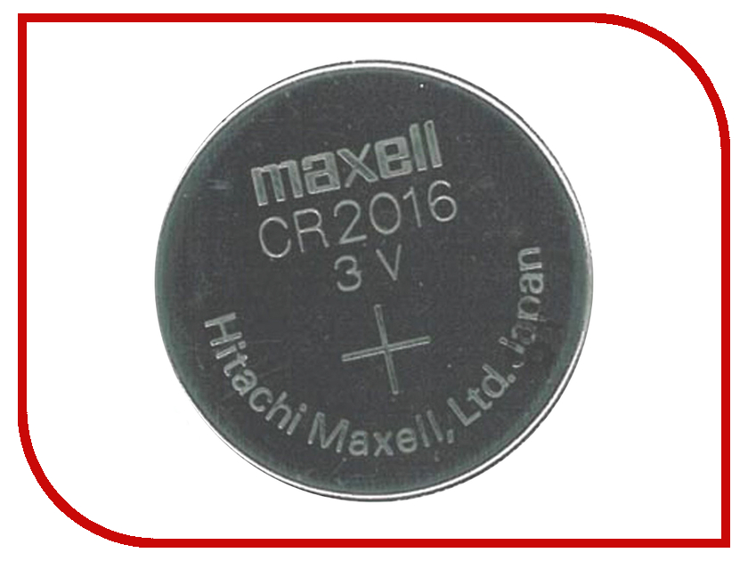Maxell Батарейка CR2016 - Maxell CR2016 3V