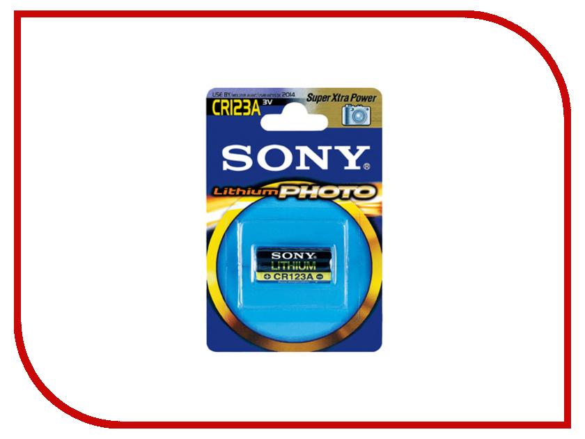 Батарейка CR123A - Sony CR123A 3V Lithium Photo