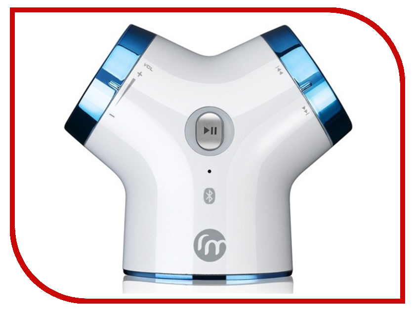 Колонка Ross&amp;Moor Cutebeat Bluetooth White<br>