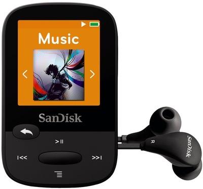 Плеер SanDisk Clip Sports - 8Gb Black SDMX24-008G-G46K