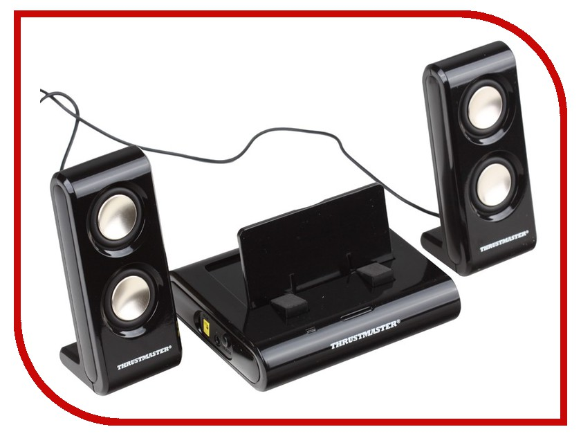 ������� Thrustmaster Sound System 2 in 1 for PSP Black 4160512