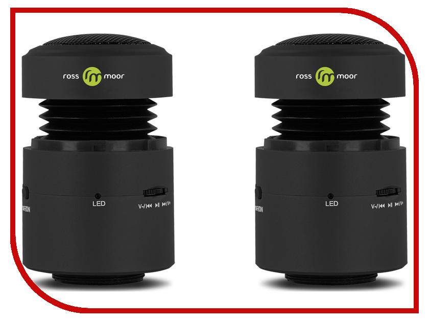 аккумулятор ross Колонка Ross&Moor Nanobeat 12W Bluetooth Black