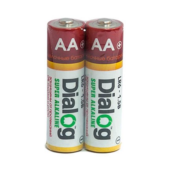 Батарейка AA - Dialog LR6-2S (2 штуки)