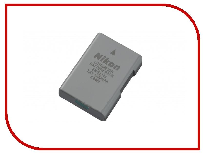 Аккумулятор Nikon EN-EL14A<br>