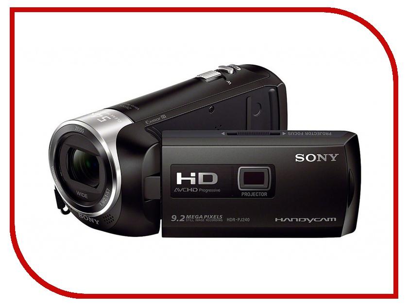 Видеокамера Sony HDR-PJ240E Black