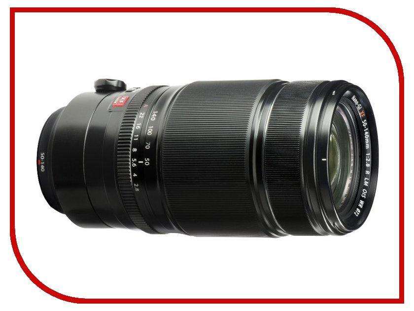Объектив Fujifilm XF 50-140 f/2.8 R LM OIS WR герлен guerlain иссима увлажняющая сыворотка 50мл ака иссима увлажняющий сущность сыворотка увлажняющий потянув компактный