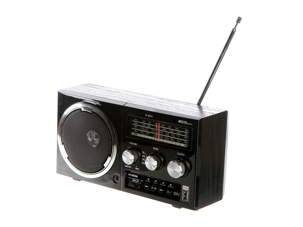 лучшая цена Радиоприемник Panasonic RF-800UEE-K