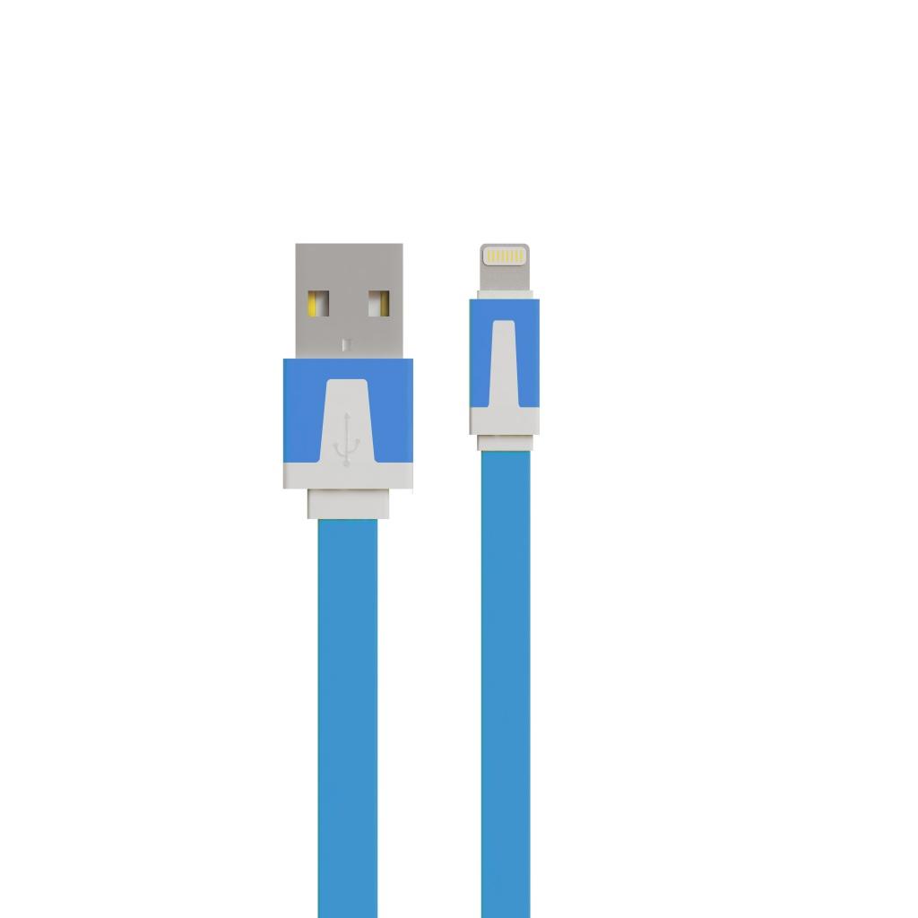 Аксессуар Vertex Fancy S8pin for iPad mini /Air / iPhone 5/5S/5C / iPod Touch 5/Nano 7 Blue DCUSBS8PINFA<br>