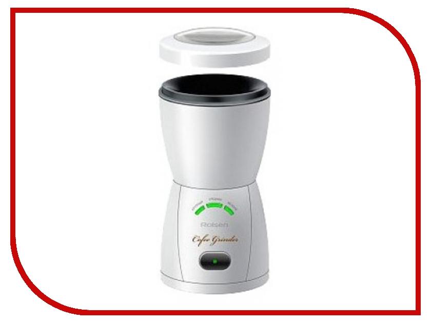 Кофемолка Rolsen RCG-150L White<br>