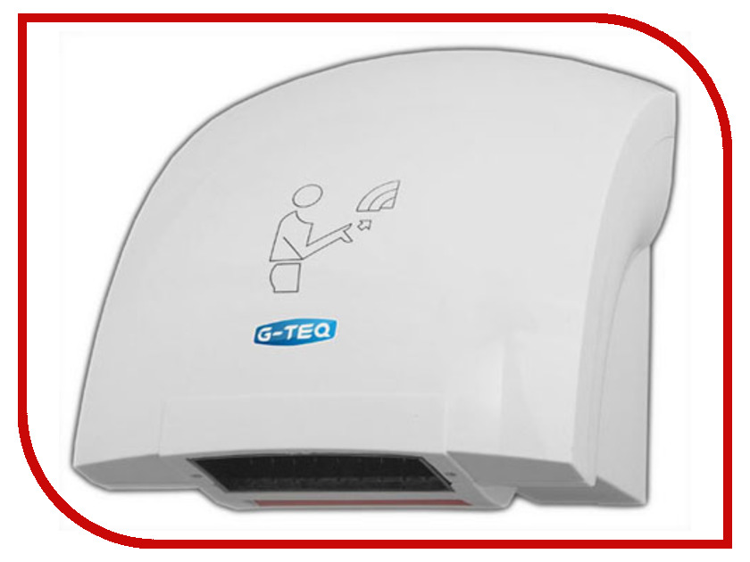 Электросушилка для рук G-teq 8820 PW White<br>